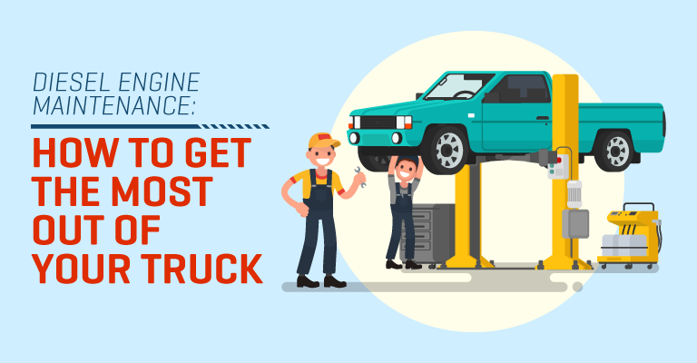 Diesel Engine Maintenance: How To Get The Most Out Of Your Truck